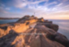 Castle Point Lighthouse sunrise