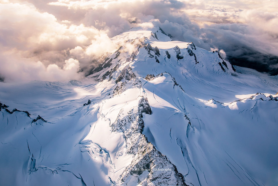 Mount Cook aerial