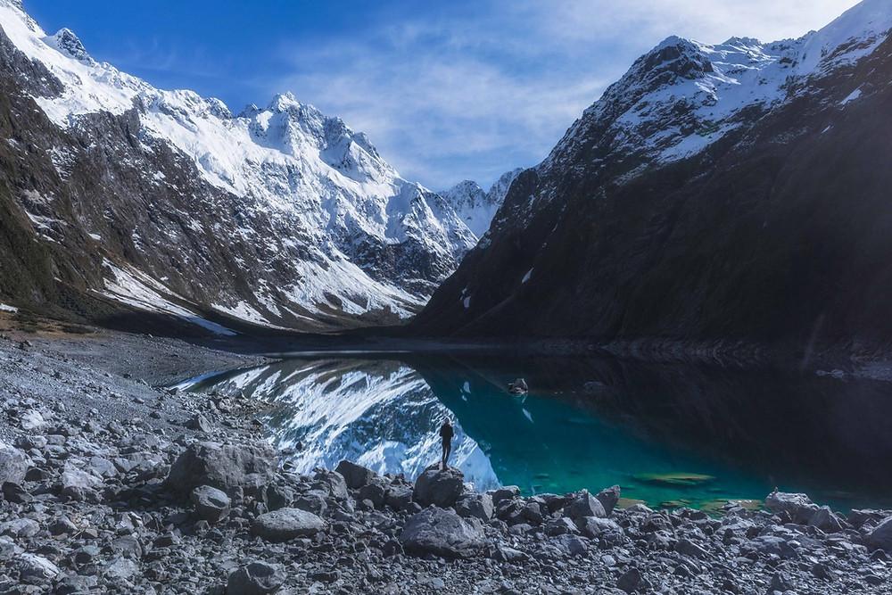Lake Marian Fiordland New Zealand