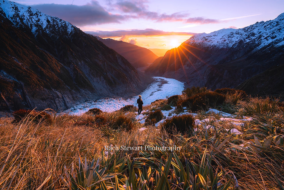Fox Glacier sunrise
