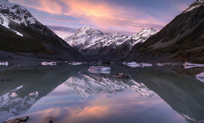 New Zealand Landscape Calendar 2022 - March 2022