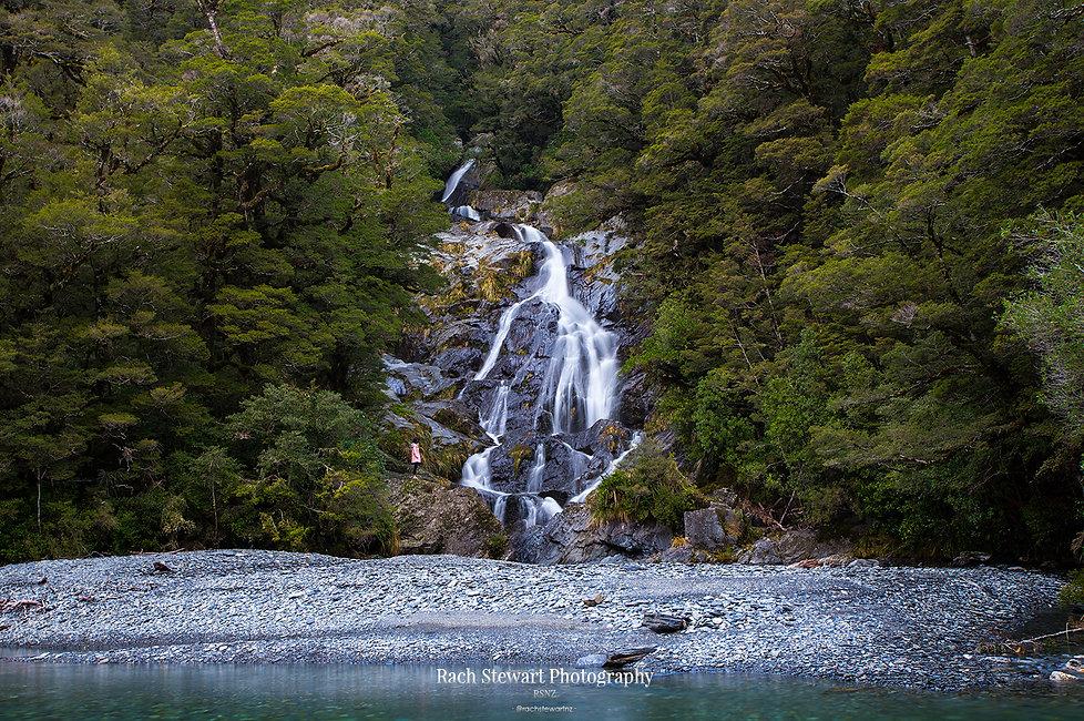 Fantail Falls Haast Wanaka