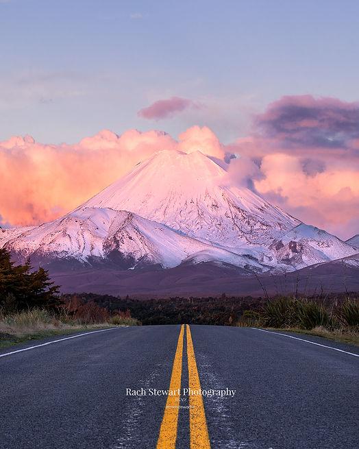 Road to Mount Ngauruhoe