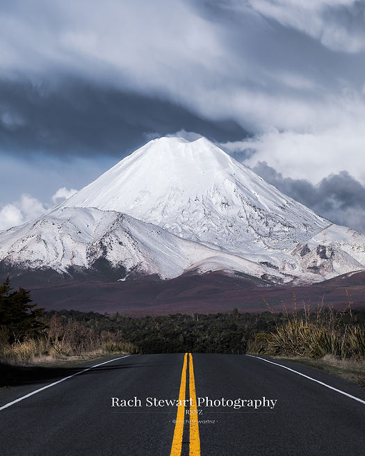 Mount Ngauruhoe Mount Doom road