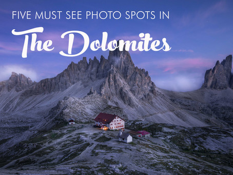 FIVE MUST SEE PHOTO SPOTS IN THE ITALIAN DOLOMITES