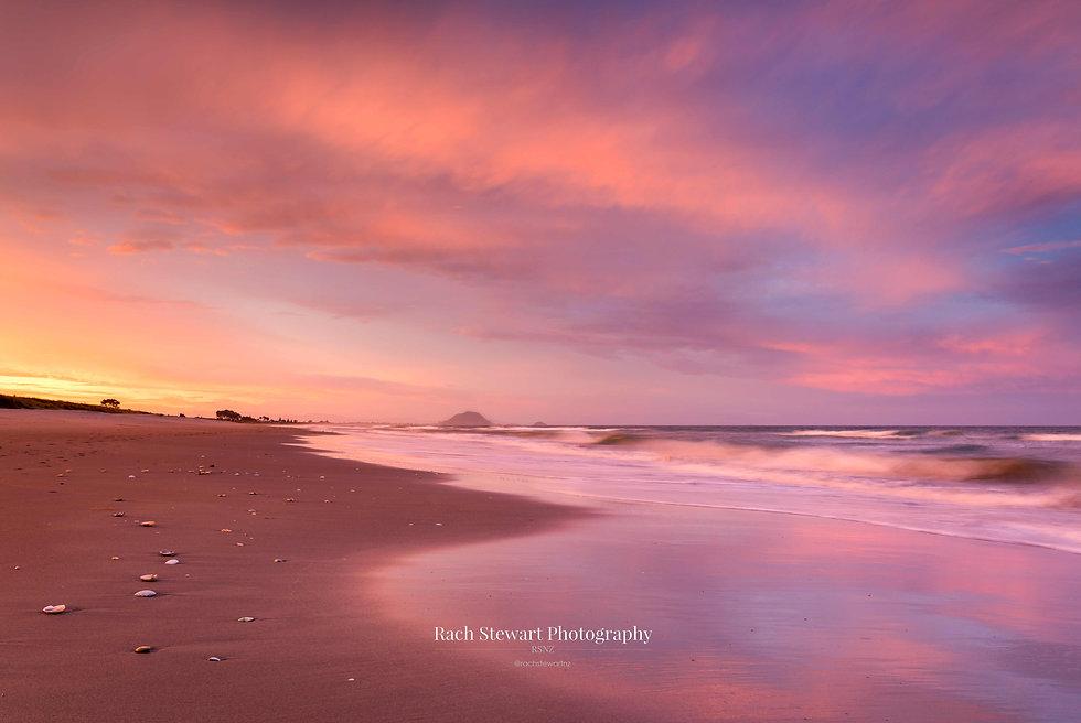 Papamoa Beach Sunset