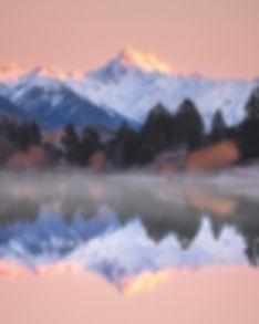 Mount D'Archiac sunrise