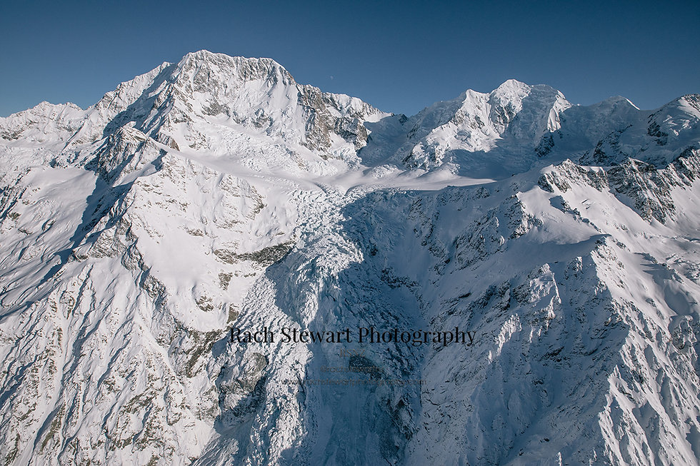 Hochstetter Icefall Mount Cook New Zealand