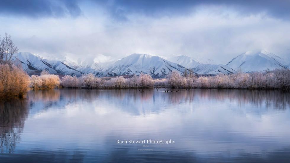 Twizel Reflection Lake Panorama