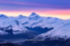 Mt Aspiring sunset wanaka