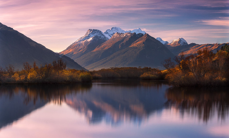 New Zealand Landscape Calendar 2022 - October 2022