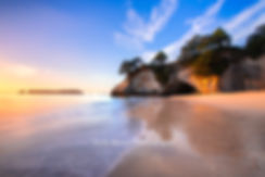 Cathedral Cove sunrise Coromandel