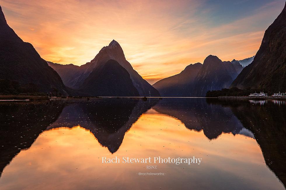Milford Sound sunset