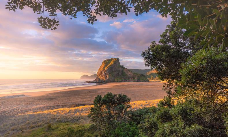 New Zealand Landscape Calendar 2022 - Febraury 2022