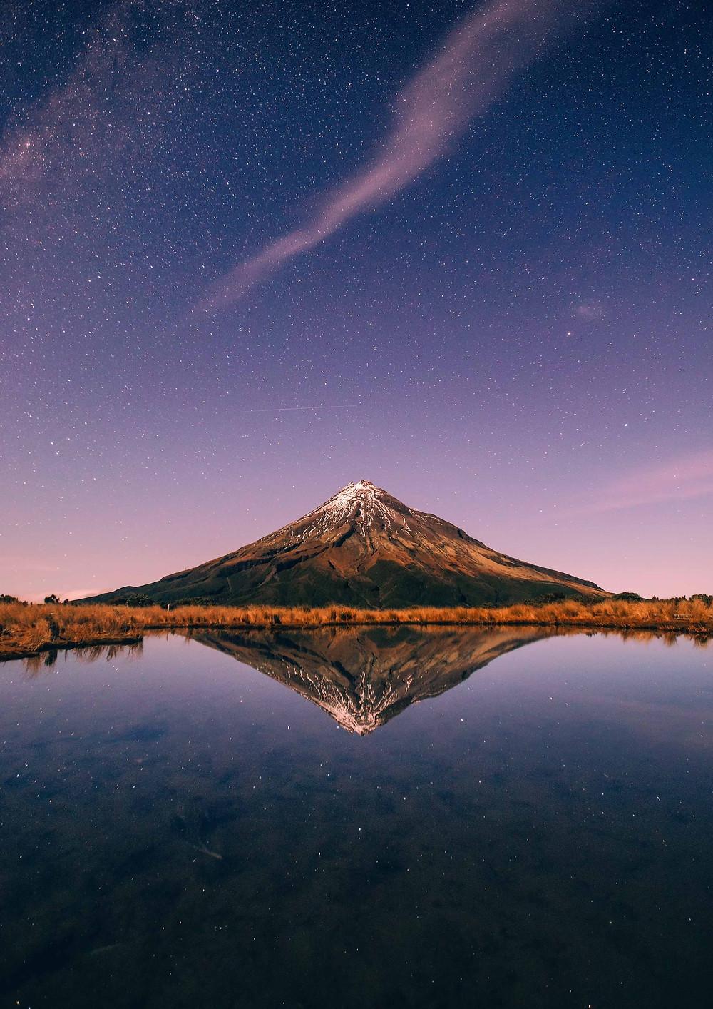 Mount Taranaki astrophotography