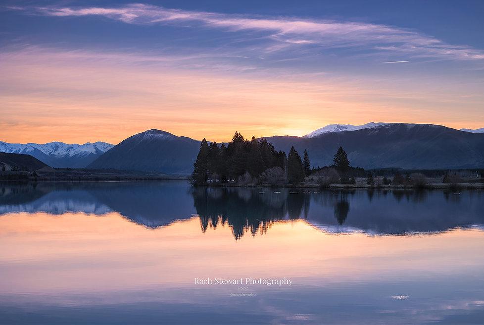 Lake Ruataniwha Sunset Twizel