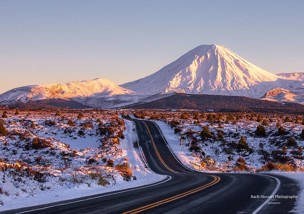 The Desert Road, Ruapehu