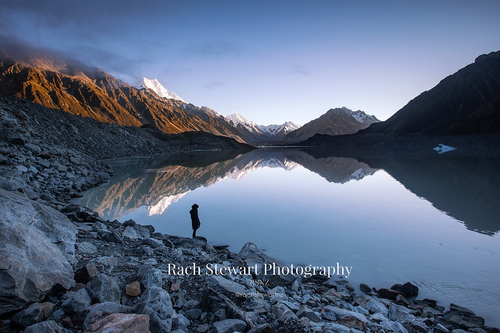 Tasman Lake Mount Cook