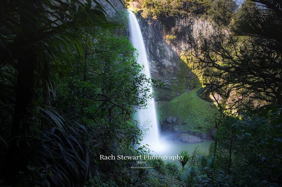 Bridal Veil Falls Raglan Waikato