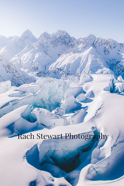 Hochstetter Ice Fall Mount Cook