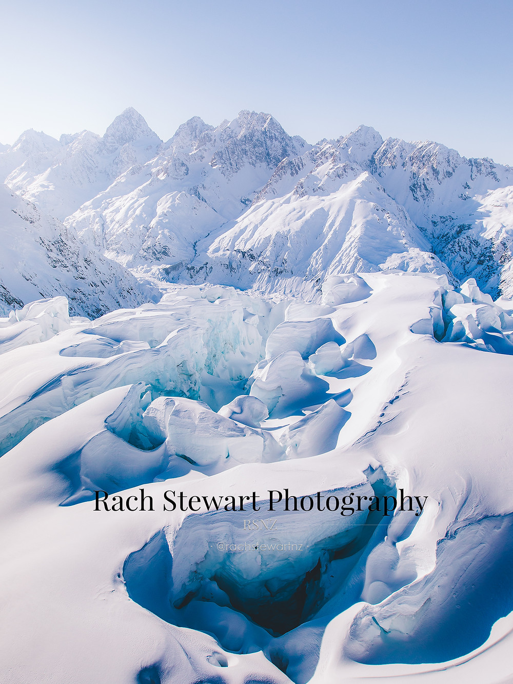Hochstetter Icefall Mount Cook