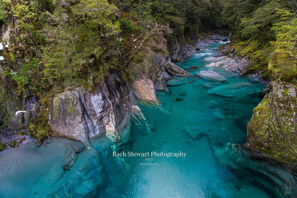 The Blue Pools, Wanaka