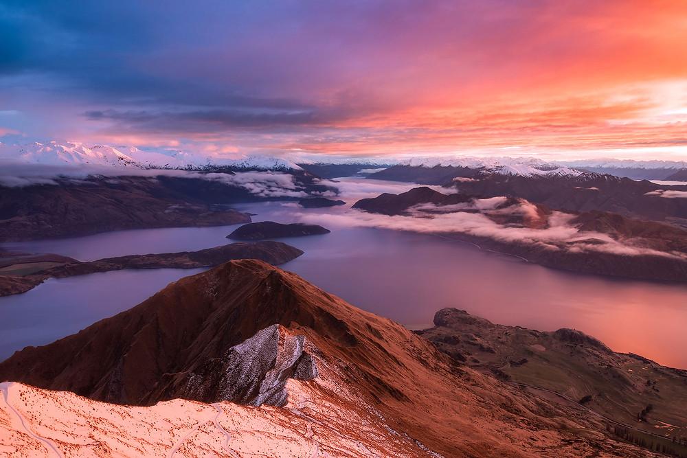 Roys Peak Sunrise Wanaka
