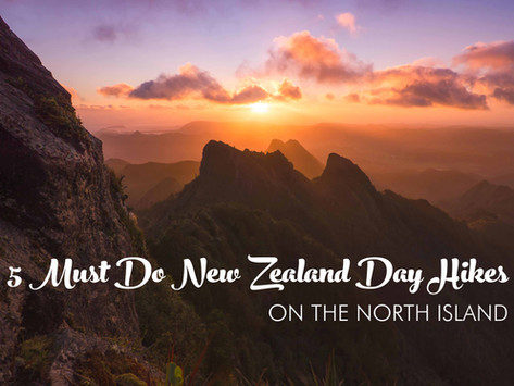 5 MUST DO NORTH ISLAND NEW ZEALAND DAY HIKES