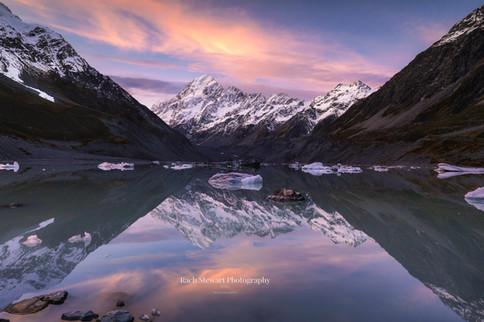 Hooker Lake Sunset