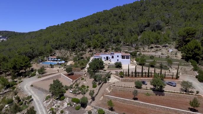 Can Frare Hilltop Private Location Ibiza
