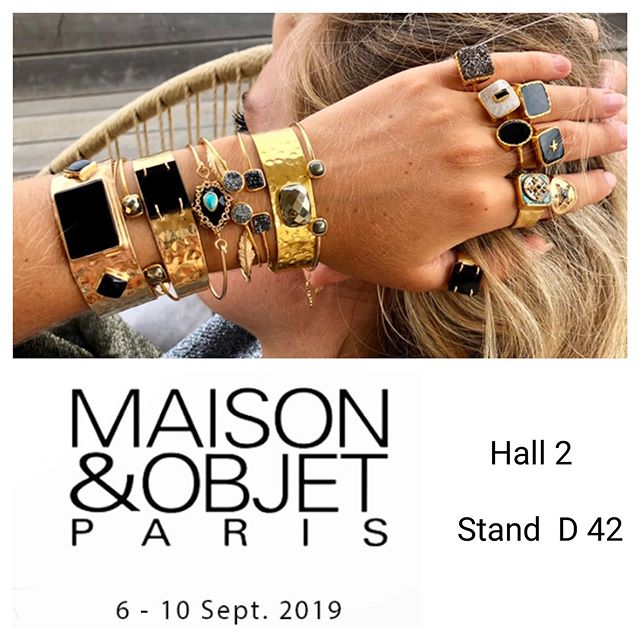 Happy to meet you at Maison & Objet in P