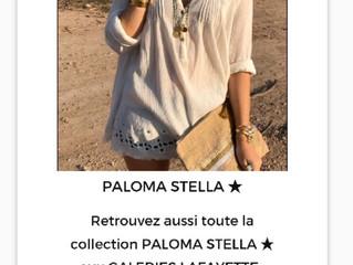 PALOMA STELLA - GALERIES LAFAYETTE et BHV MARAIS  PARIS