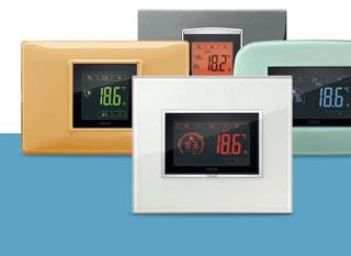 Vimar érintőképernyős termosztát család