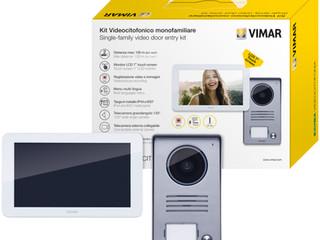 Új ELVOX video kaputelefon KIT                  egy- vagy kétlakásos telepítéshez