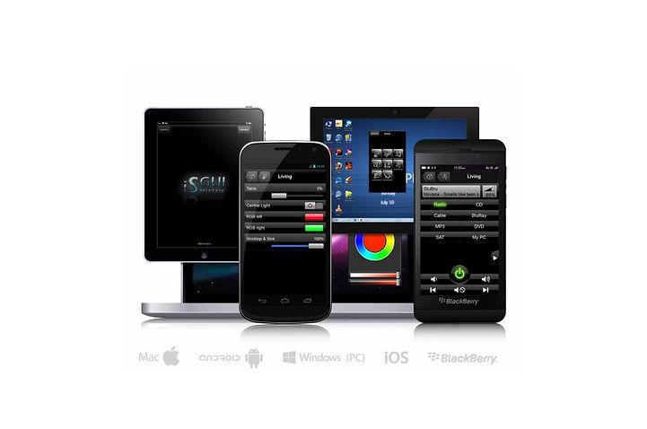 Teletask kezelők mobil eszközökön