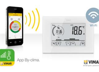 Wi-Fi termosztátok a VIMAR-tól