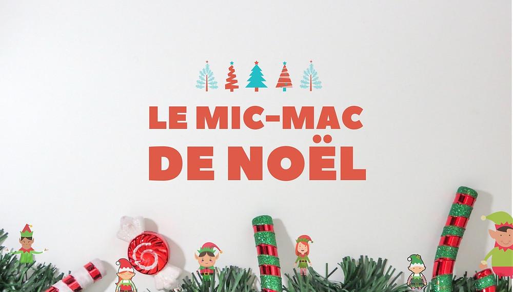Happy kits le mic mac de Noël