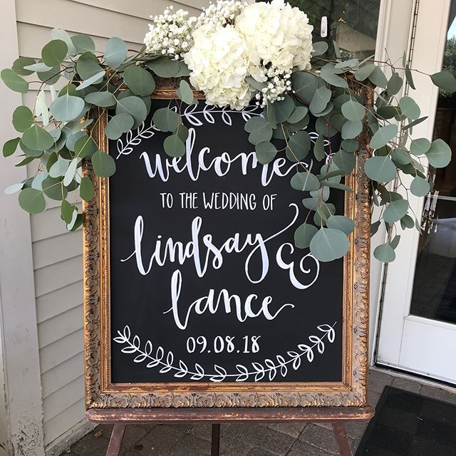 Double wedding weekend- Congrats to Lanc