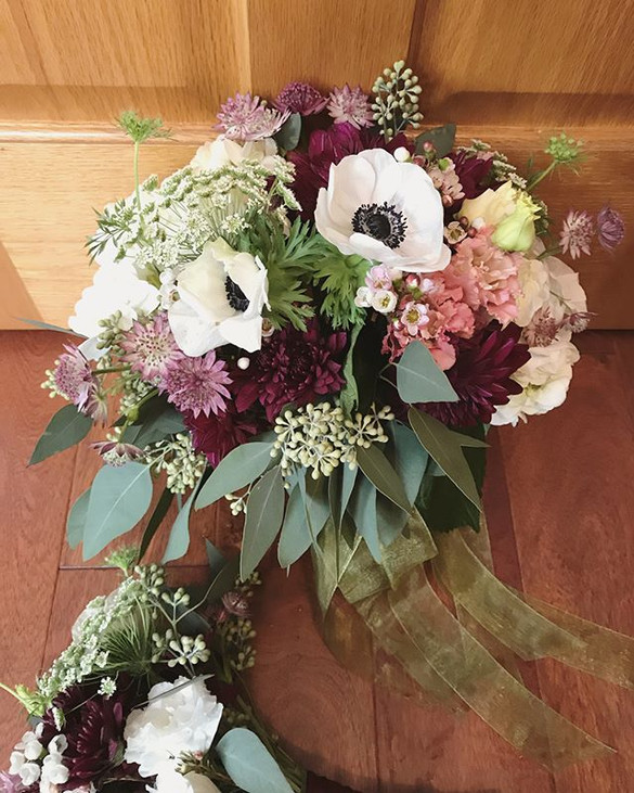 """Bouquets,_corsages and a cute little """"wa"""