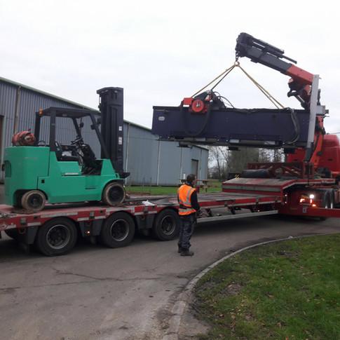 Holmeswood Services Ltd,laser unload in france