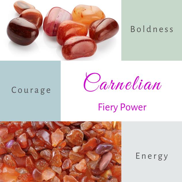 Carnelian-Fiery Power