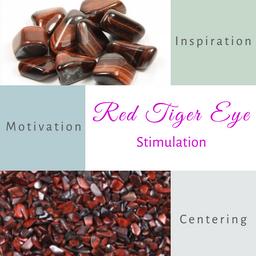 Red Tiger Eye-Stimulation