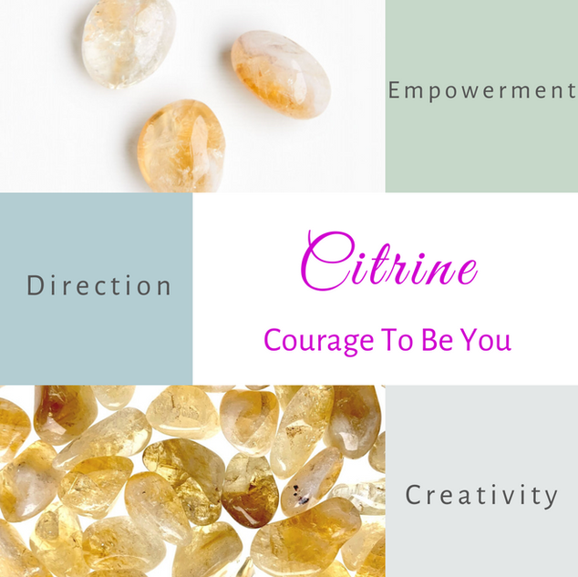 Citrine-Courage To Be You