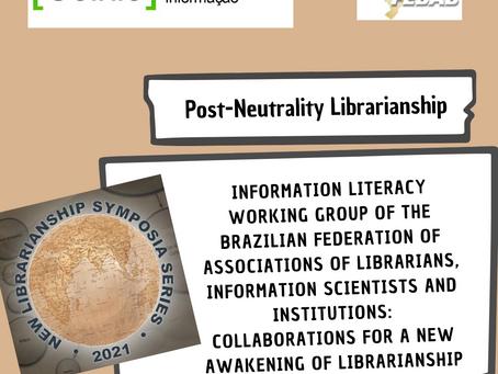 GT - CoInfo da FEBAB participará do evento New Librarianship Symposia dia 28/10 às 8h00