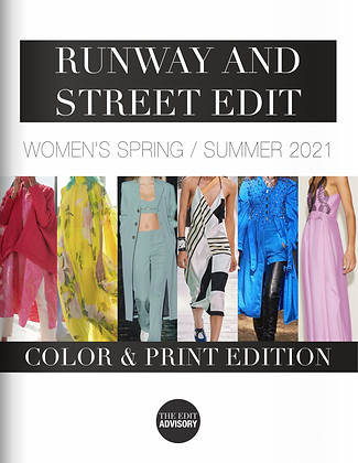 SS21 RUNWAY AND STREET EDIT: COLOR AND PRINT