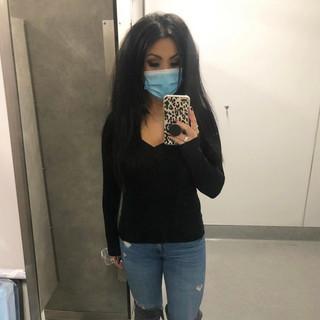 H&M henley, Zara jeans
