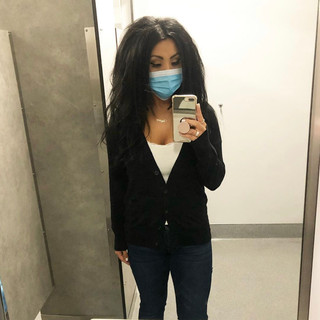 Target cardigan, H&M t-shirt, Kut From the Kloth jeans