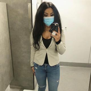 31 August   H&M blazer, Black bodysuit, Zara jeans