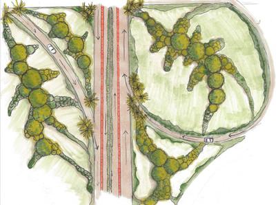 Naturalized Roadways