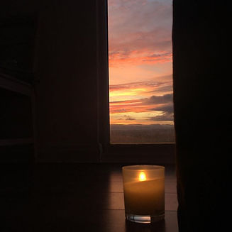 Sunset practice 🧘 #yoga #sunset #sunset